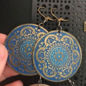 Jewelry - Absolutely stunning Grecian style earrings